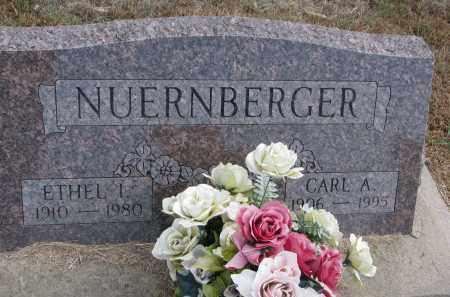 NUERNBERGER, ETHEL I. - Wayne County, Nebraska | ETHEL I. NUERNBERGER - Nebraska Gravestone Photos