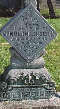 NUERNBERGER, FRITZ - Wayne County, Nebraska | FRITZ NUERNBERGER - Nebraska Gravestone Photos