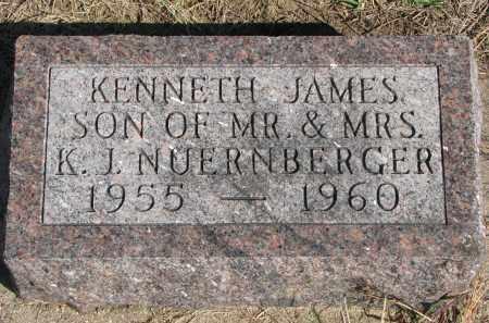 NUERNBERGER, KENNETH JAMES - Wayne County, Nebraska | KENNETH JAMES NUERNBERGER - Nebraska Gravestone Photos