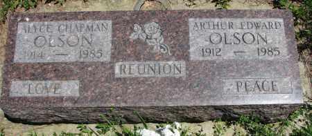 OLSON, ALYCE - Wayne County, Nebraska | ALYCE OLSON - Nebraska Gravestone Photos