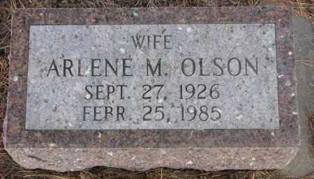 OLSON, ARLENE M. - Wayne County, Nebraska   ARLENE M. OLSON - Nebraska Gravestone Photos