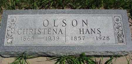 OLSON, CHRISTENA - Wayne County, Nebraska   CHRISTENA OLSON - Nebraska Gravestone Photos