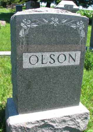 OLSON, FAMILY STONE - Wayne County, Nebraska | FAMILY STONE OLSON - Nebraska Gravestone Photos