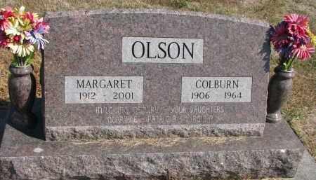 OLSON, MARGARET - Wayne County, Nebraska | MARGARET OLSON - Nebraska Gravestone Photos