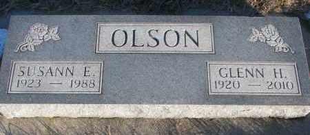 OLSON, GLENN H. - Wayne County, Nebraska | GLENN H. OLSON - Nebraska Gravestone Photos