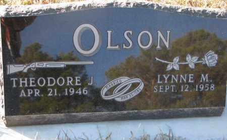 OLSON, THEODORE J. - Wayne County, Nebraska | THEODORE J. OLSON - Nebraska Gravestone Photos