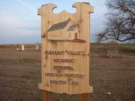 *PLEASANT VALLEY, NEW SIGN - Wayne County, Nebraska | NEW SIGN *PLEASANT VALLEY - Nebraska Gravestone Photos