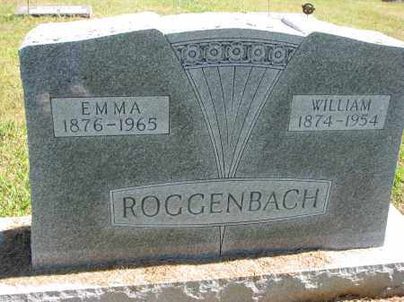 ROGGENBACH, EMMA - Wayne County, Nebraska   EMMA ROGGENBACH - Nebraska Gravestone Photos