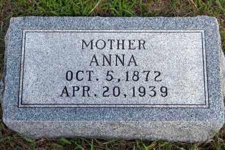SCHROEDER, ANNA - Wayne County, Nebraska | ANNA SCHROEDER - Nebraska Gravestone Photos