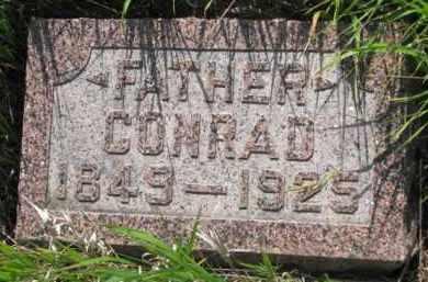SCHROEDER, CONRAD - Wayne County, Nebraska | CONRAD SCHROEDER - Nebraska Gravestone Photos