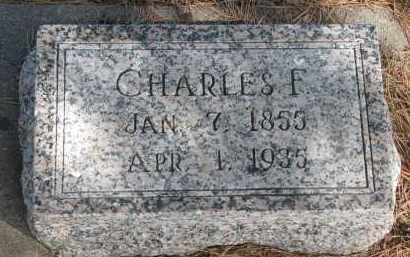 SCHROEDER, CHARLES F. - Wayne County, Nebraska | CHARLES F. SCHROEDER - Nebraska Gravestone Photos