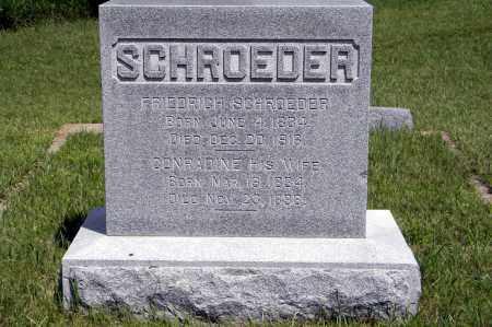SCHROEDER, CONRADINE - Wayne County, Nebraska   CONRADINE SCHROEDER - Nebraska Gravestone Photos