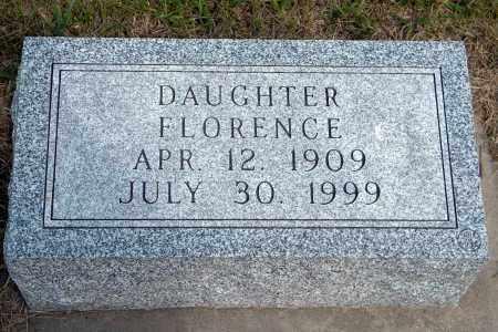 SCHROEDER, FLORENCE - Wayne County, Nebraska   FLORENCE SCHROEDER - Nebraska Gravestone Photos