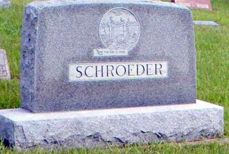 SCHROEDER, GUSTAV - Wayne County, Nebraska | GUSTAV SCHROEDER - Nebraska Gravestone Photos