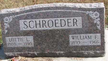SCHROEDER, LOTTIE L. - Wayne County, Nebraska | LOTTIE L. SCHROEDER - Nebraska Gravestone Photos