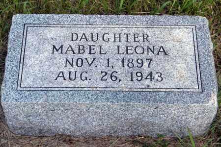 SCHROEDER, MABEL LEONA - Wayne County, Nebraska | MABEL LEONA SCHROEDER - Nebraska Gravestone Photos