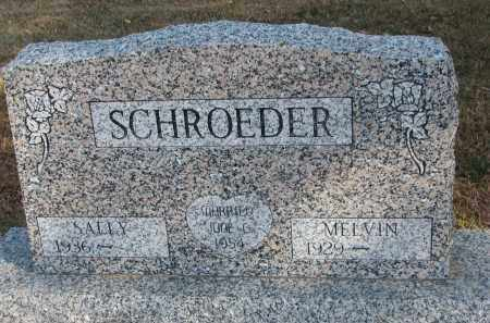 SCHROEDER, MELVIN - Wayne County, Nebraska | MELVIN SCHROEDER - Nebraska Gravestone Photos