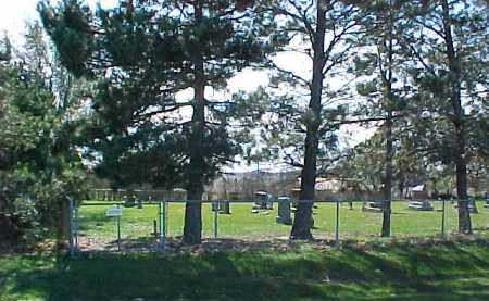 *ST. PAUL'S LUTHERAN CEMETERY, OVERVIEW - Wayne County, Nebraska   OVERVIEW *ST. PAUL'S LUTHERAN CEMETERY - Nebraska Gravestone Photos