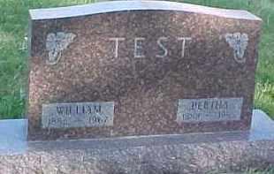 TEST, WILLIAM - Wayne County, Nebraska | WILLIAM TEST - Nebraska Gravestone Photos