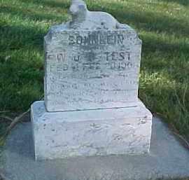 TEST, W.U.B. SOHNLEIN - Wayne County, Nebraska | W.U.B. SOHNLEIN TEST - Nebraska Gravestone Photos