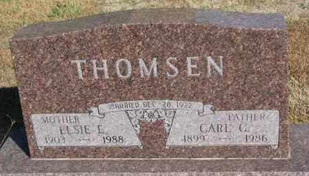 THOMSEN, CARL C. - Wayne County, Nebraska   CARL C. THOMSEN - Nebraska Gravestone Photos