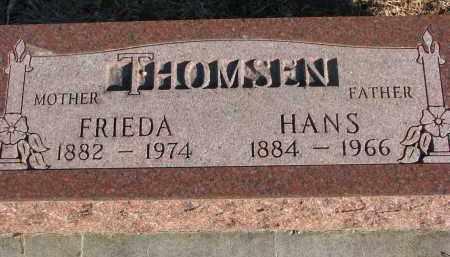 THOMSEN, FRIEDA - Wayne County, Nebraska | FRIEDA THOMSEN - Nebraska Gravestone Photos