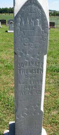 THOMSEN, JOHANAS T. - Wayne County, Nebraska | JOHANAS T. THOMSEN - Nebraska Gravestone Photos