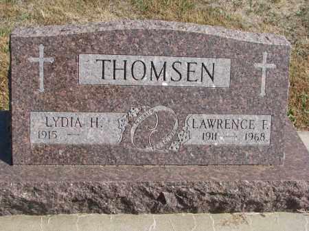 THOMSEN, LAWRENCE F. - Wayne County, Nebraska | LAWRENCE F. THOMSEN - Nebraska Gravestone Photos