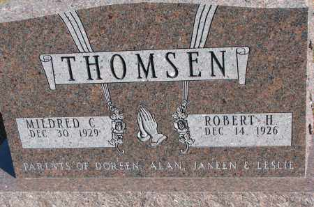 THOMSEN, MILDRED C. - Wayne County, Nebraska   MILDRED C. THOMSEN - Nebraska Gravestone Photos