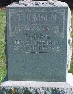 THOMSEN, THOMAS - Wayne County, Nebraska   THOMAS THOMSEN - Nebraska Gravestone Photos