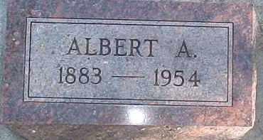UTECHT, ALBERT A. - Wayne County, Nebraska   ALBERT A. UTECHT - Nebraska Gravestone Photos