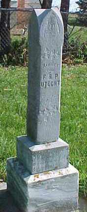 UTECHT, ELMA - Wayne County, Nebraska | ELMA UTECHT - Nebraska Gravestone Photos