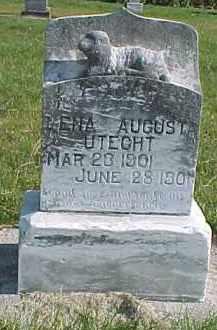 UTECHT, LENA AUGUSTA - Wayne County, Nebraska   LENA AUGUSTA UTECHT - Nebraska Gravestone Photos