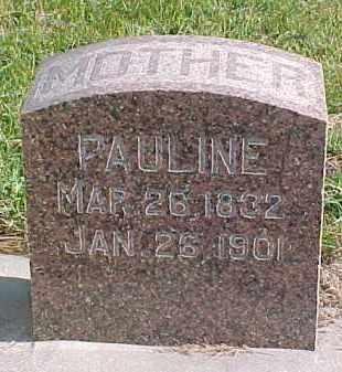 UTECHT, PAULINE - Wayne County, Nebraska   PAULINE UTECHT - Nebraska Gravestone Photos
