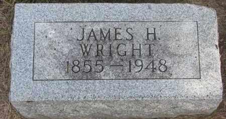 WRIGHT, JAMES H. - Wayne County, Nebraska | JAMES H. WRIGHT - Nebraska Gravestone Photos