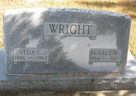 WRIGHT, VEDA C. - Wayne County, Nebraska | VEDA C. WRIGHT - Nebraska Gravestone Photos