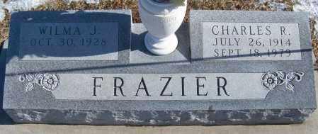 FRAZIER, CHARLES - Webster County, Nebraska | CHARLES FRAZIER - Nebraska Gravestone Photos