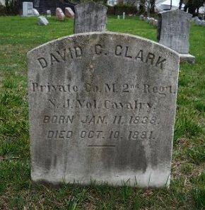 CLARK, DAVID C. - Atlantic County, New Jersey   DAVID C. CLARK - New Jersey Gravestone Photos