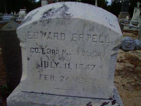 ERTELL, EDWARD - Atlantic County, New Jersey | EDWARD ERTELL - New Jersey Gravestone Photos