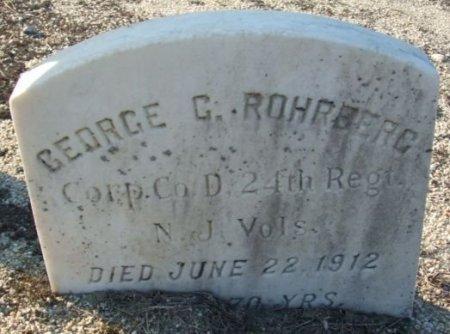 ROHRBERG, GEORGE C. - Atlantic County, New Jersey   GEORGE C. ROHRBERG - New Jersey Gravestone Photos