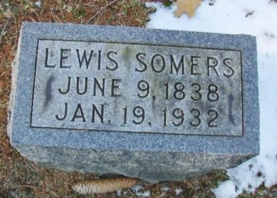 SOMERS, LEWIS - Atlantic County, New Jersey | LEWIS SOMERS - New Jersey Gravestone Photos