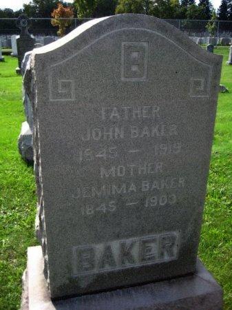 BAKER, JOHN - Bergen County, New Jersey | JOHN BAKER - New Jersey Gravestone Photos