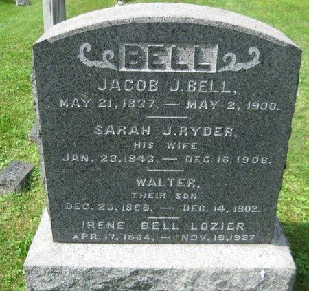 BELL, JACOB J. - Bergen County, New Jersey | JACOB J. BELL - New Jersey Gravestone Photos