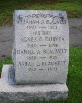 BLAUVELT, ABRAHAM D. - Bergen County, New Jersey | ABRAHAM D. BLAUVELT - New Jersey Gravestone Photos