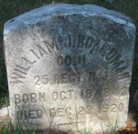 BOARDMAN, WILLIAM J. - Bergen County, New Jersey | WILLIAM J. BOARDMAN - New Jersey Gravestone Photos