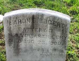 BOGERT, AARON D. - Bergen County, New Jersey | AARON D. BOGERT - New Jersey Gravestone Photos