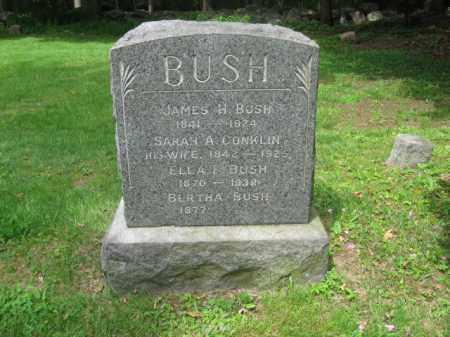 BUSH, JAMES H. - Bergen County, New Jersey | JAMES H. BUSH - New Jersey Gravestone Photos