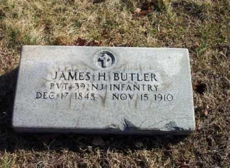 BUTLER, JAMES H. - Bergen County, New Jersey | JAMES H. BUTLER - New Jersey Gravestone Photos