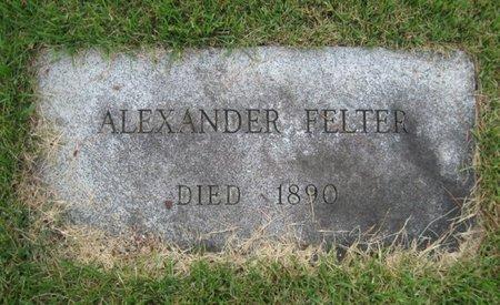 FELTER, ALEXANDER - Bergen County, New Jersey | ALEXANDER FELTER - New Jersey Gravestone Photos