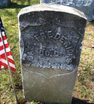 FREDERICKS, JAMES - Bergen County, New Jersey   JAMES FREDERICKS - New Jersey Gravestone Photos